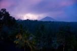 Lightning by Mount Agung